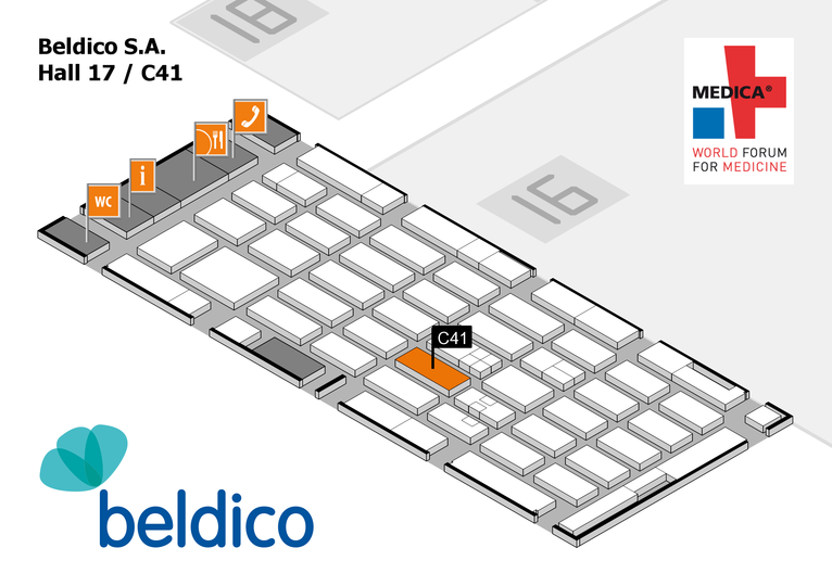 Beldico will take part at MEDICA 2017