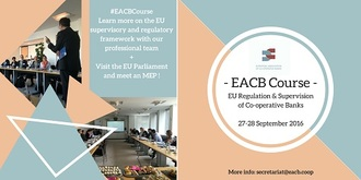 EACB Course on EU Regulation and Supervision of Co-operative Banks