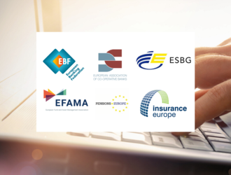 Joint industry letter - Call for EU action : a centralized register for environmental, social and governance (ESG) data in the EU