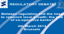 SAVE THE DATE-EACB Regulatory Debate-4th March 2014 in Brussels