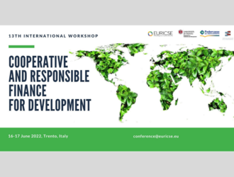 13th International Workshop on Cooperative and Responsible Finance for Development: Call for Papers