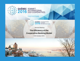 Which studies will be presented at the International Summit of Co-operative 2016 ?
