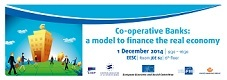 6th European Forum on Co-operative Banks & SMEs, 1 December - Brussels