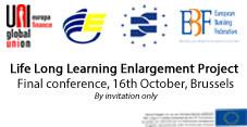 Final conference of the Life Long Learning Enlargement Project-16th October 2013