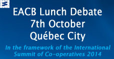 Pictures & Background Documents|EACB Lunch debate, 7th October 2014, Québec