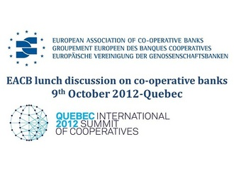 EACB Lunch Debate on co-operative banks| 9th October 2012