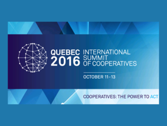 Cooperatives formally declare their commitment to sustainable development