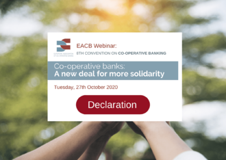 Declaration of the EACB Convention on Co-operative Banks
