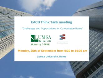 EACB Think Tank Meeting: