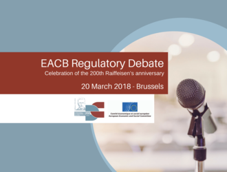 [POST-EVENT + PICS] EACB Regulatory Debate - 20 March 2018, Brussels
