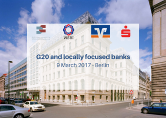 G20 and locally focused banks - Press release & Position paper