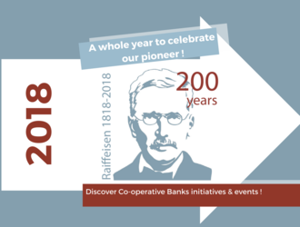 Raiffeisen Year 2018 - Celebration of the 200th Raiffeisen's anniversary