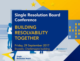 President G. Hofmann speaker at the SRB Conference 'Building Resolvability Together' 29 September