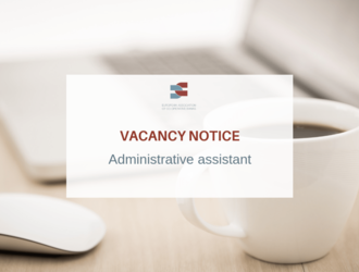JOB VACANCY - Administrative assistant
