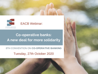 [Webinar] COOPERATIVE BANKS: A NEW DEAL FOR MORE SOLIDARITY - 8th Convention on co-operative banking