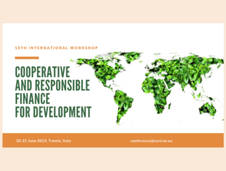 10th International workshop on cooperative and responsible finance for development - Trento (Italy)