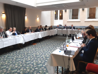 The EACB Executive Committee meets in Brussels