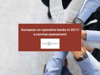 "New Research Letter on ""European co-operative banks in 2017, a concise assessment"", Tilburg University"
