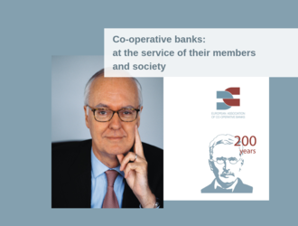 Interview of Etienne Pflimlin Honorary President of Crédit Mutuel for the 200th Raiffeisen Anniversary