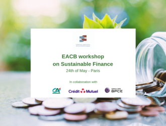 [POST-EVENT] EACB workshop on Sustainable Finance 24th May in Paris