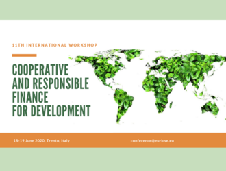 11th International workshop on cooperative and responsible finance for development - Trento (Italy)
