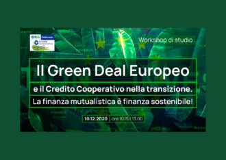 EACB speaking at Federcasse webinar on the European Green Deal, co-operative banks and sustainable finance