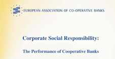 Corporate Social Responsibility: The Performance of Cooperative Banks