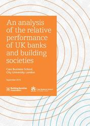 An Analysis of the relative performance of UK banks and building societies
