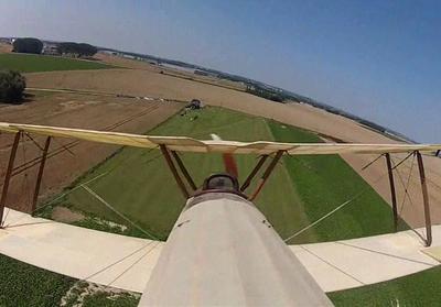 Promenade aérienne d'une GoPro
