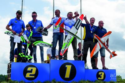 Médailles d'Argent pour les pilotes Belges en championnat mondial F3D