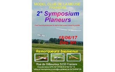 Symposium Planeurs à Franière