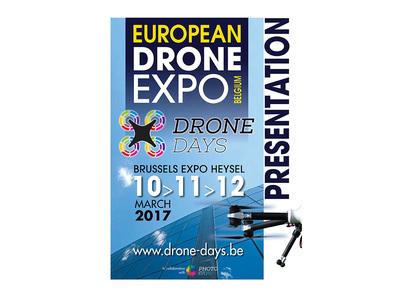 Drone Days 2017 au Heysel à Bruxelles