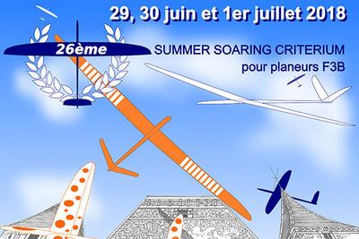 26ème SUMMER SOARING CRITÉRIUM POUR PLANEURS F3B
