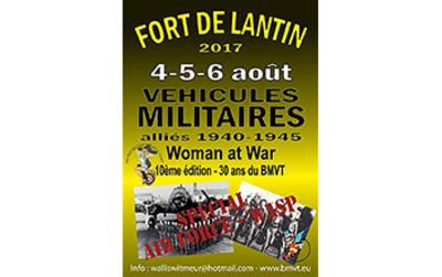 Concentration véhicules US 1940-1945 à Lantin, thème USAF et WASP