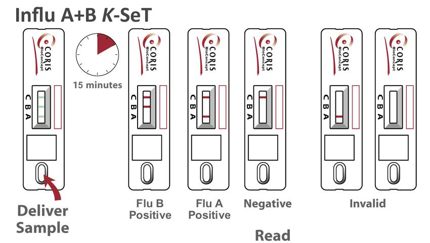 Procedure Influ A+B K-set