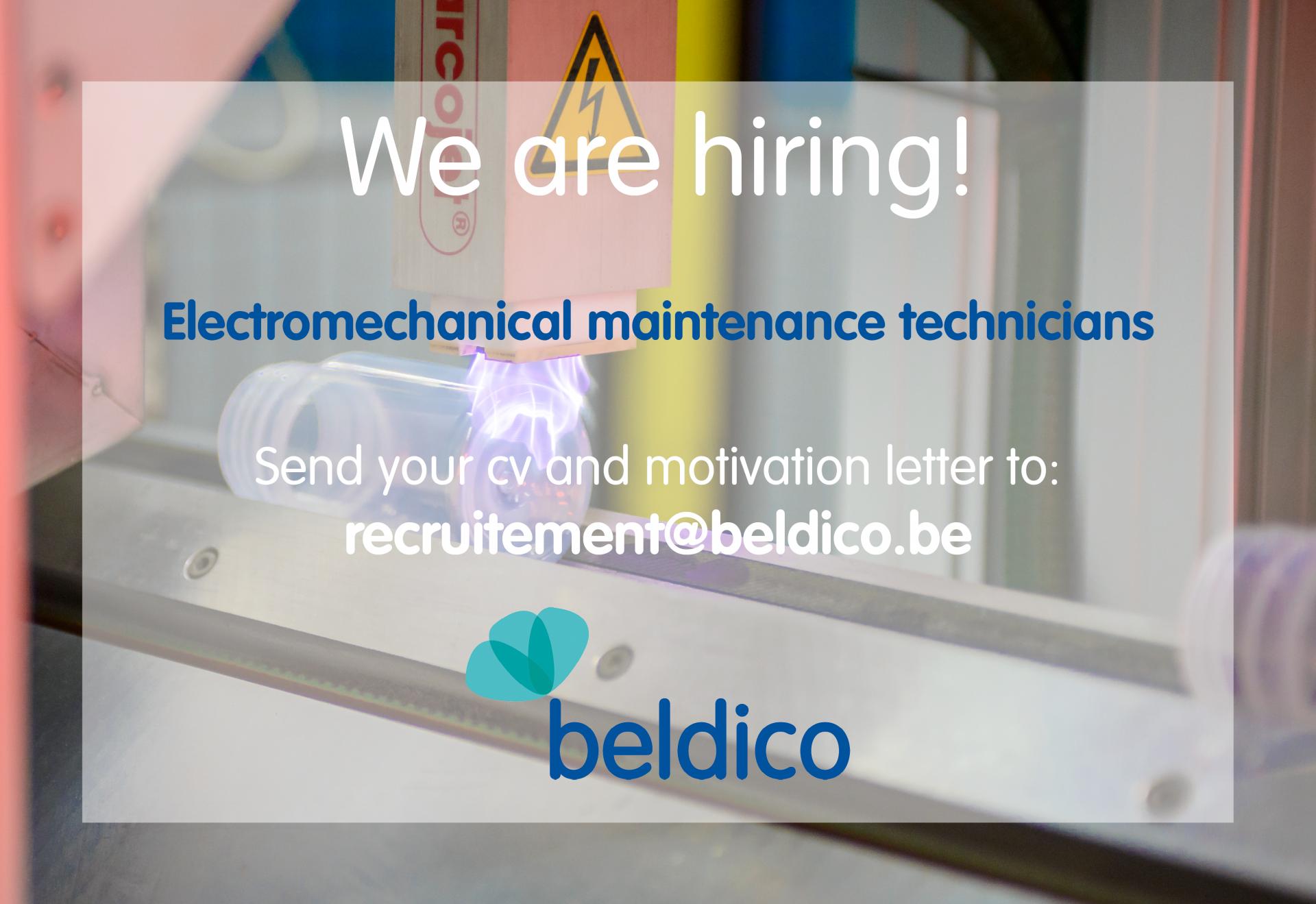 Job electromechanical maintenance technician beldico