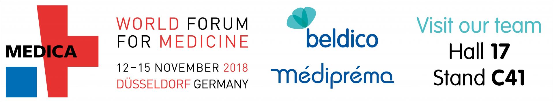 Beldico & Mediprema MEDICA 2018