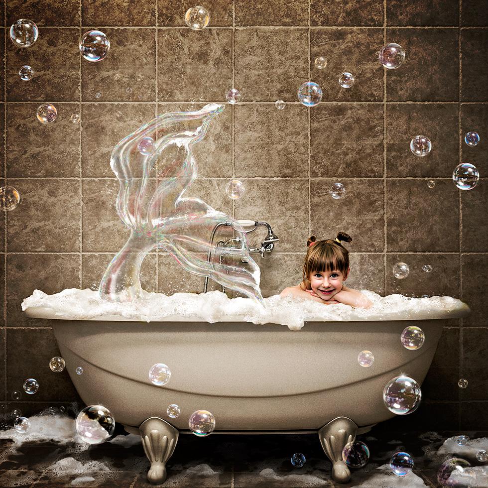Retouche et manipulation CGI - Série Bathroom - Glucône-R