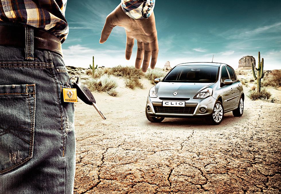 Imbrication et montage photo pour Renault par Glucône-R