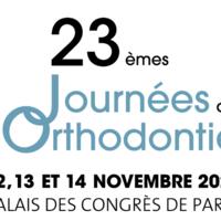 23ème journées de l'orthodontie