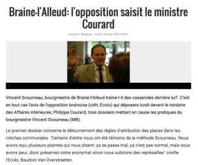 La cour d'appel de Bruxelles réaffirme le droit pour tout mandataire politique de dénoncer publiquement certains comportements d'un bourgmestre
