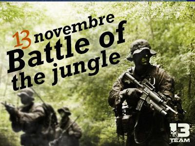 Battle of jungle