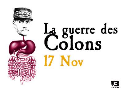 La guerre des Colons