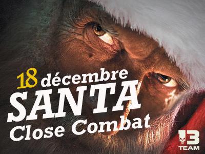 Santa Close Combat