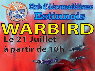 WarBird au Club d'Aéromodélisme Estinnois
