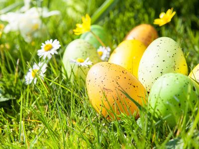 Honneur aux largages d'oeufs de Pâques