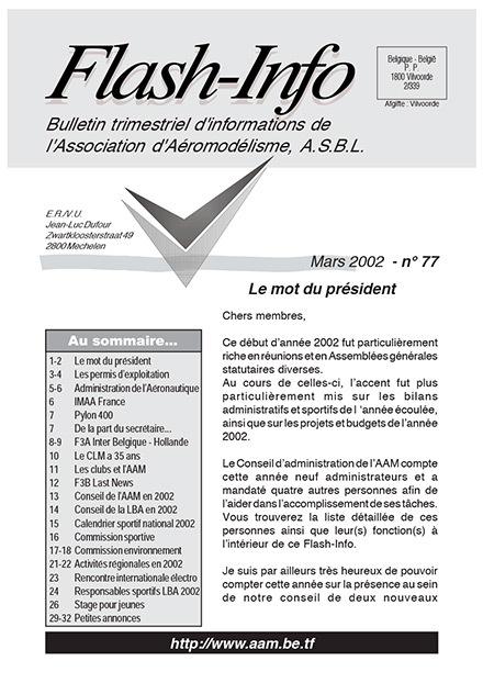 AAModels-info mars 2002