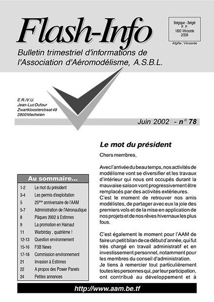 AAModels-info juin 2002