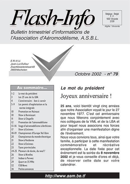 AAModels-info octobre 2002