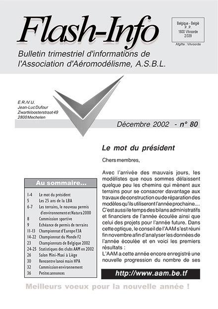 AAModels-info décembre 2002